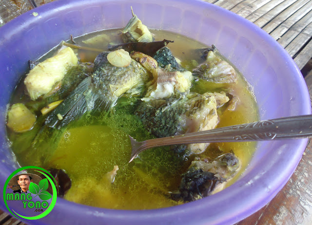 Sop Ikan mas kuah segar