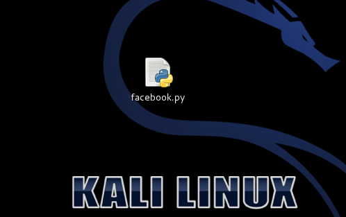 How to hack facebook using kali linux :