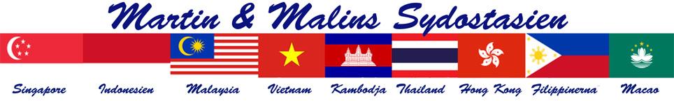 Martin & Malins Sydostasien 2012 - 2013