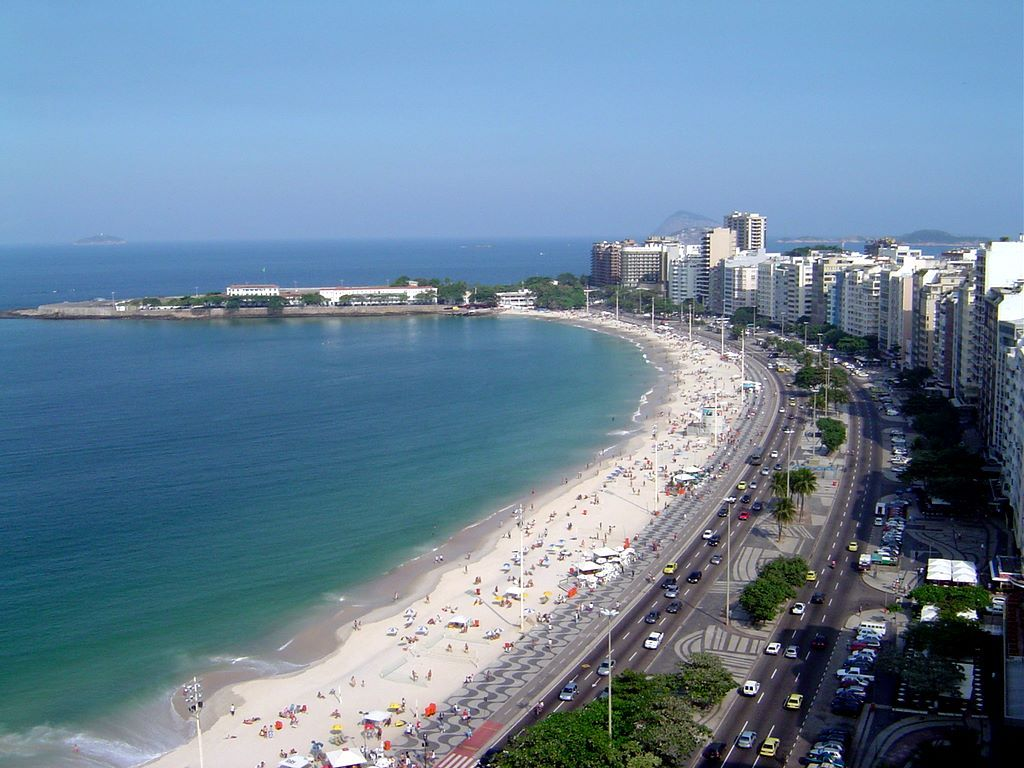 COOL WALLPAPERS: Copacabana, Brazil