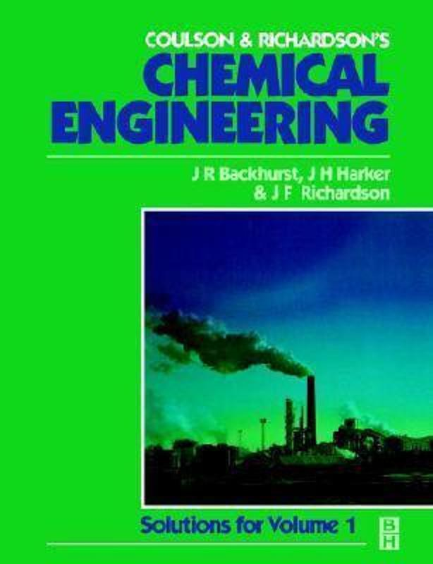 chemical engineering design 5th edition pdf