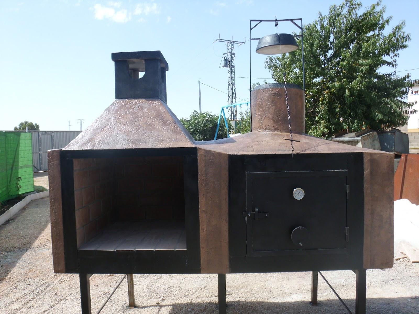 Hornos artesanales paco y luz hornos artesanales barbacoa - Barbacoas y hornos ...