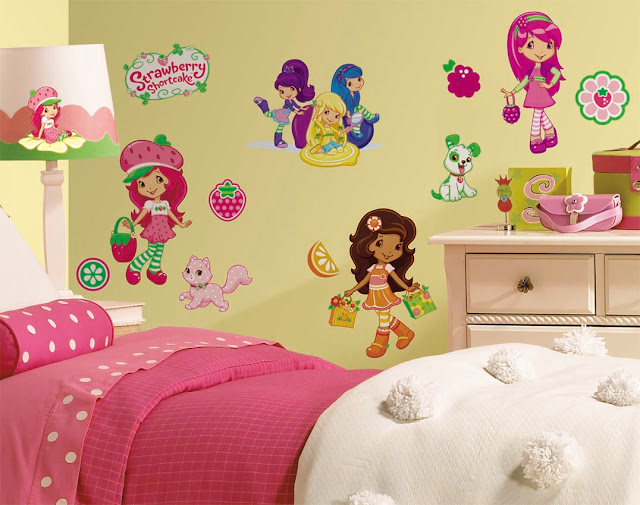 DORMITORIO DE FRESITA STRAWBERRY SHORTCAKE BEDROOM via www.dormitorios ...