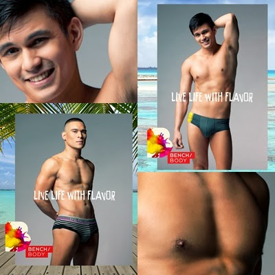 Tom Rodriguez and Pancho Magno for Bench Summer 2014