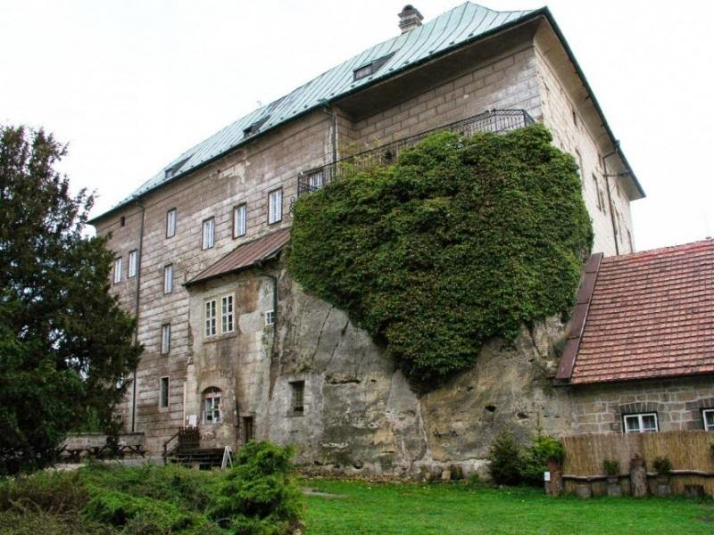 Houska Castle in the Czech Republic
