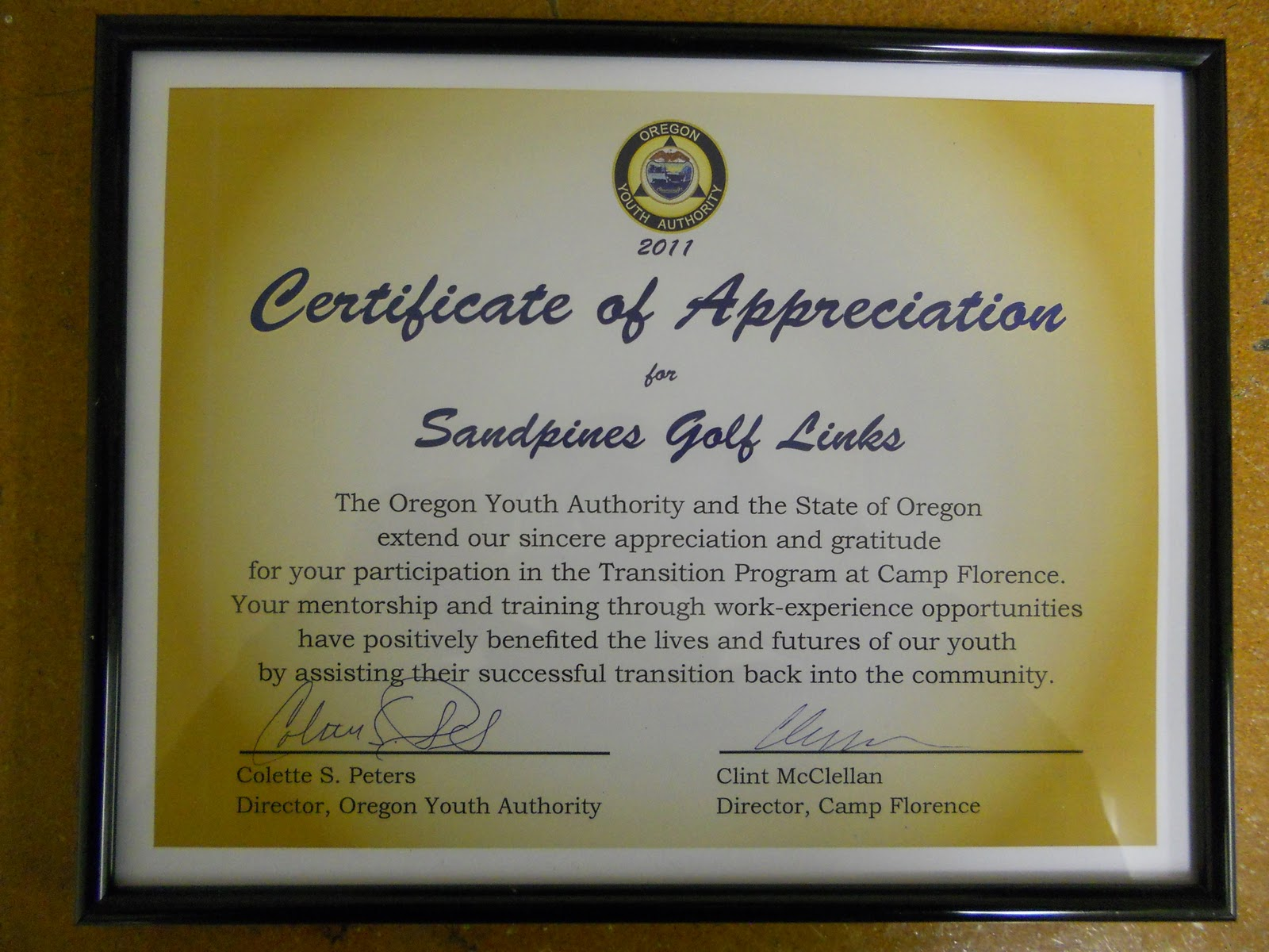 Certificate of appreciation for donation template choice image usmc certificate of commendation template images templates certificate of appreciation for sponsorship template gallery sample certificate yadclub Choice Image