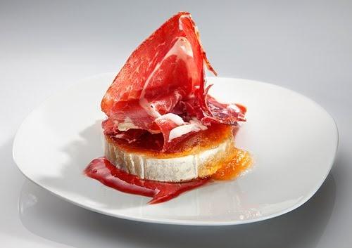 Paladar es queso de cabra plancha con mermelada de - Hacer mermelada de pimientos ...