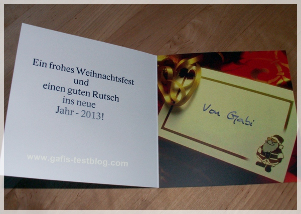 Gafi 39 s testblog jetzt schon tolle weihnachtskarten - Weihnachtskarten erstellen ...