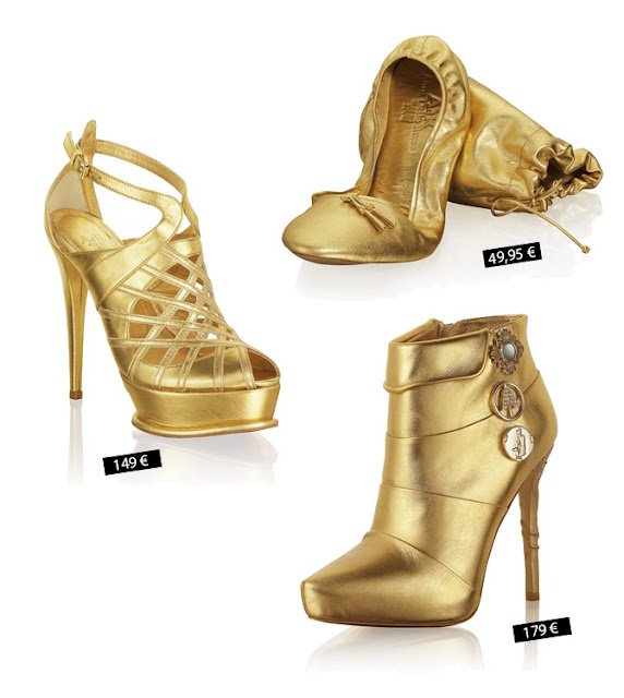 Shoe prices of Anna dello Russo´s collection for H&M