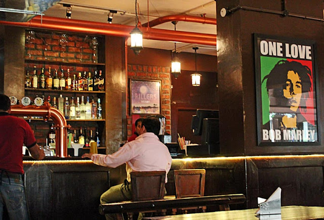 bar and pub with customers in Bangalore