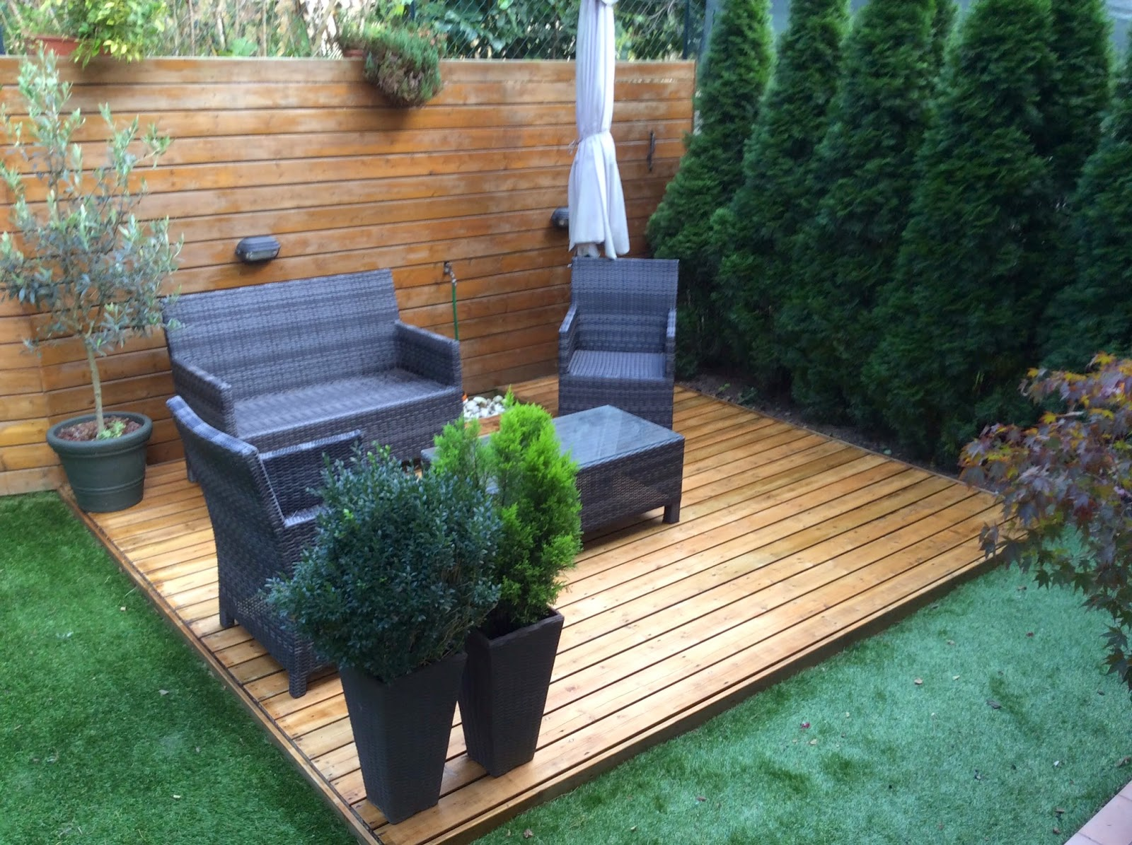 Bellissimo appartamento a lizzanella giardino con pedana for Accessori per terrazzi e giardini