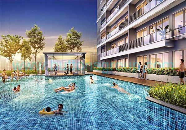 The Rise @ Oxley Residences Pool