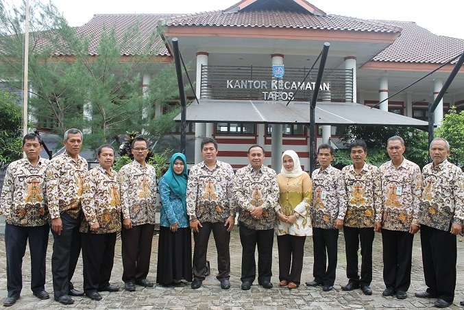 Pj Walikota Sambangi Kecamatan Tapos