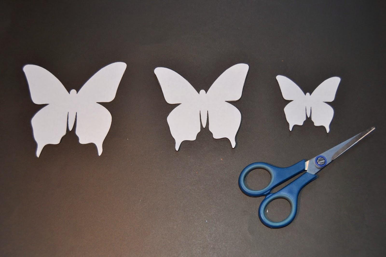 Trasteando mariposas - Plantillas de mariposas ...