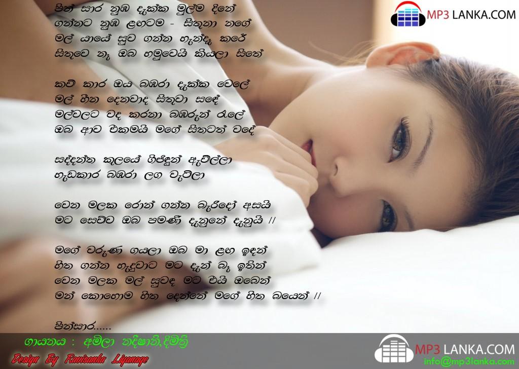 Pin Sara Amila Nadeeshani N Dimitri