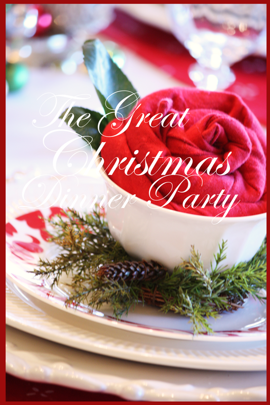 lets have a dinner party are you jumping up and down excited and ready to start planning or are you filled with anxiety and stress thinking about all - Christmas Dinner Party