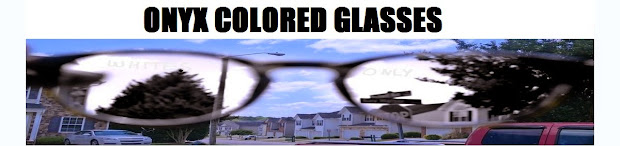 Onyx Colored Glasses
