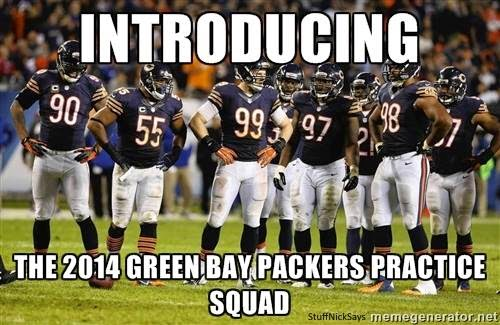 Introducing the 2014 green bay packers practice squad
