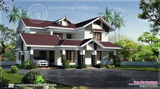 2700 sq-ft beautiful villa