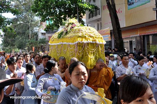 Cung tiễn Trà tỳ Kim Quan Cố HT - Thích Giác Dũng - voluongcongduc.com -27