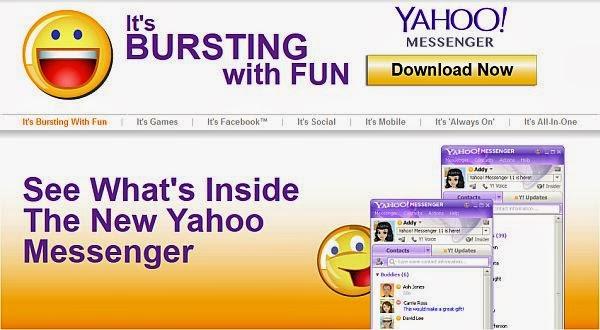Yahoo Messenger di Jepang Akan Tutup 26 Maret