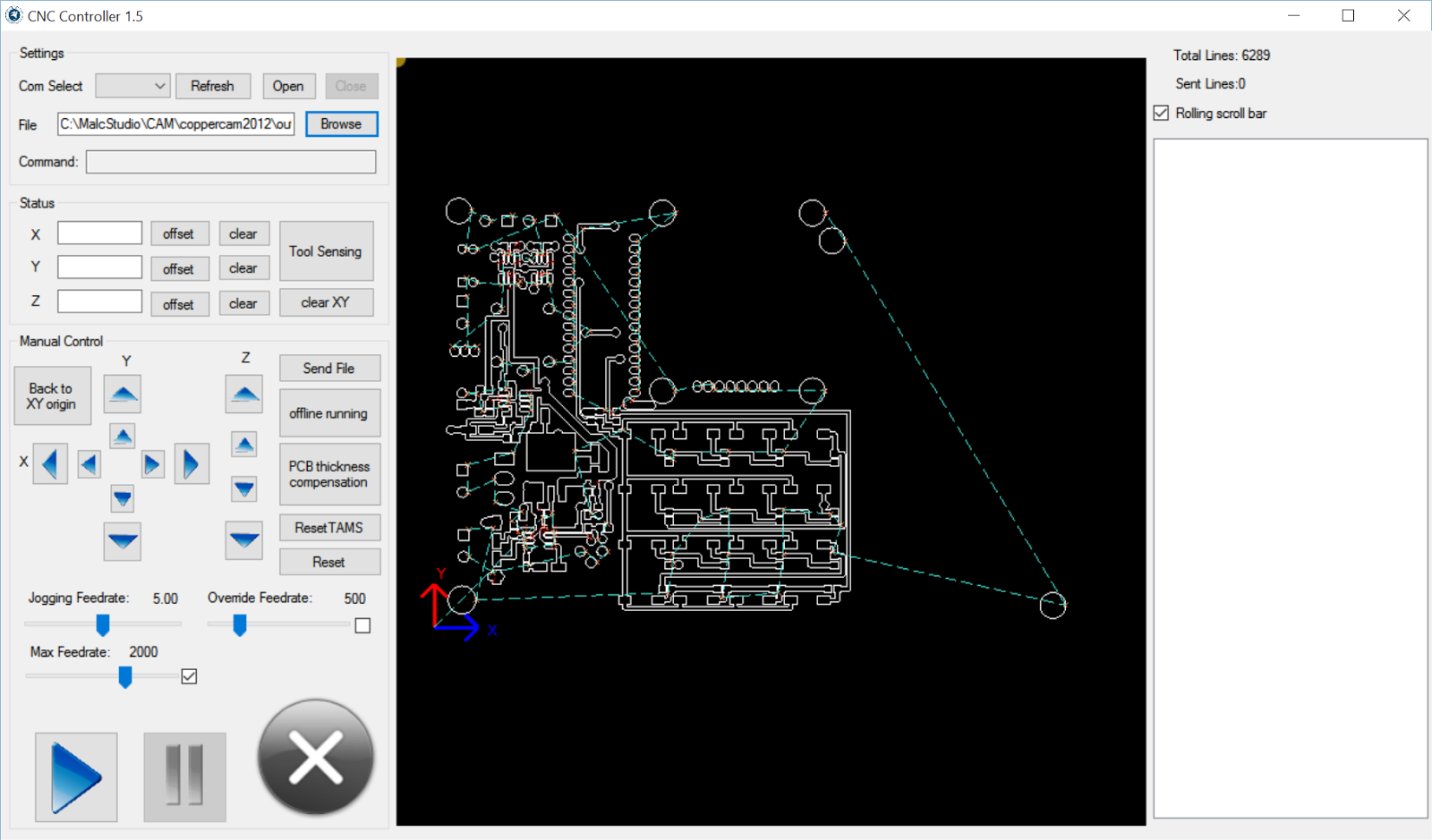 gerberCAM A PCB tool-path generator | Malcolm\'s Technical Blog