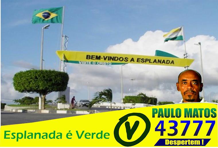 Vereador Paulo Matos