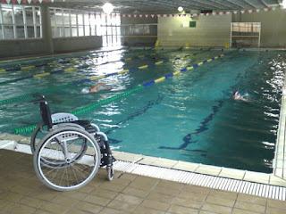 Benefícios da prática da natação em lesados medular