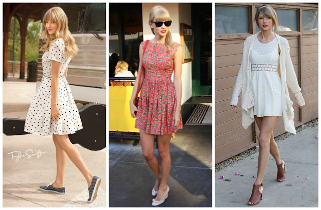 Estilo das Famosas - Taylor Swift
