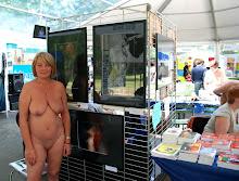 Annick expose au salon du naturisme