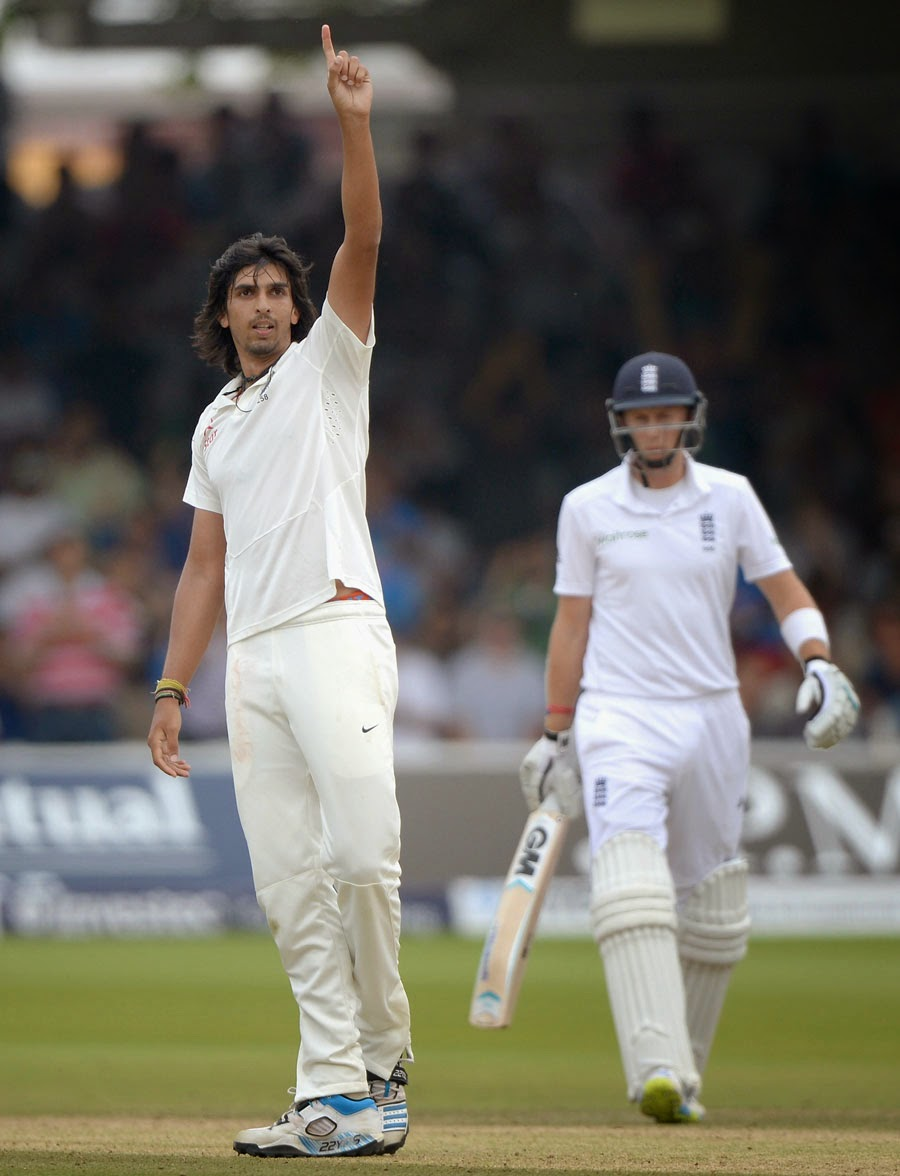 Ishanth sharma takes 7 wickets in second innings against england at lords
