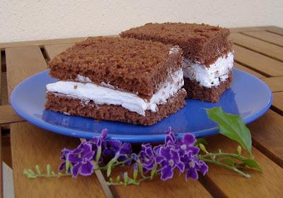 torta simile alla kinder fetta a latte