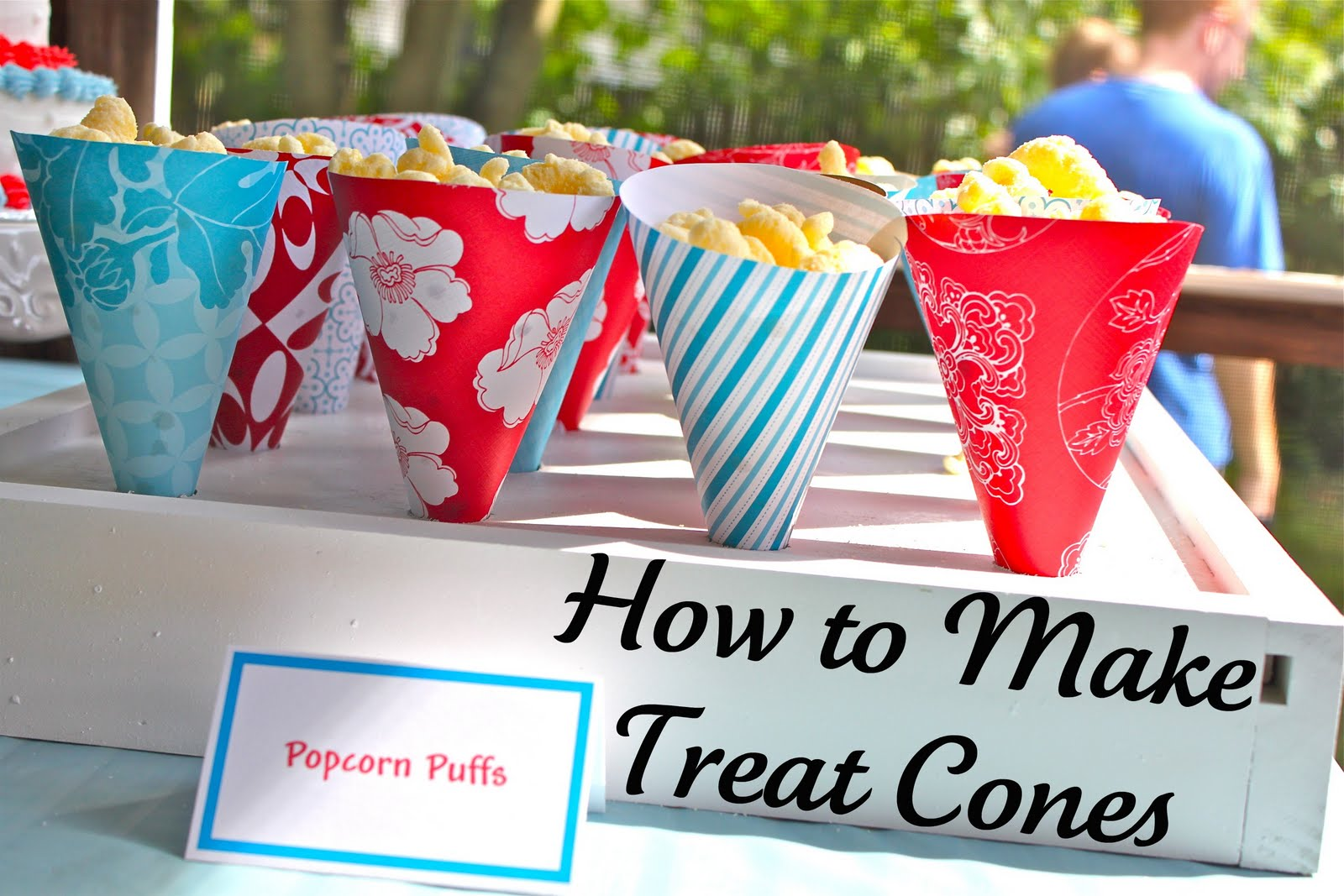 How To Make Treat Cones A Tutorial And Free Template Smashed
