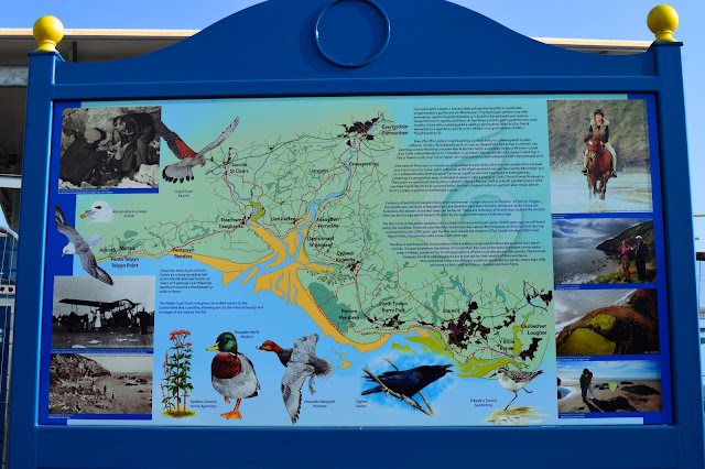 Pendine Sands Wildlife Sign