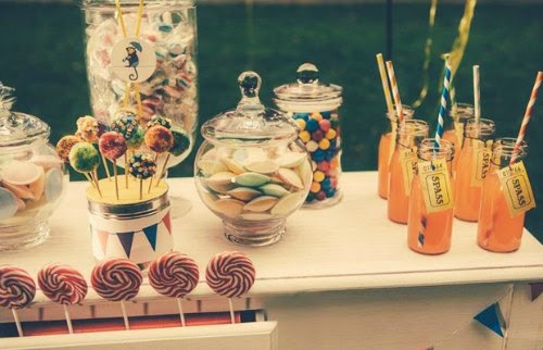 Candy Bar circo vintage