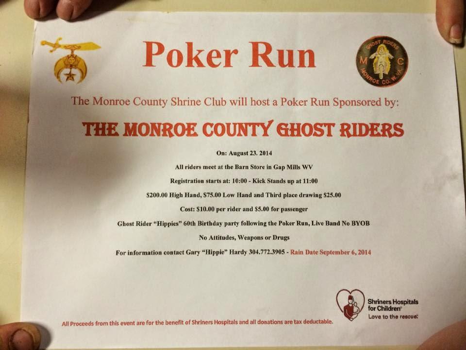 GRMC Monroe Poker Run