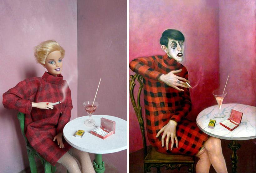 Barbie Recreations of Art Classics
