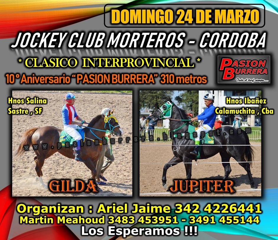 MORTEROS - 24 DE MARZO 2019