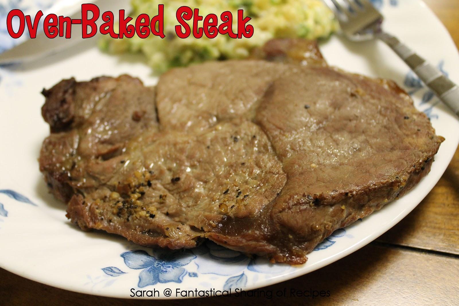 Countertop Oven Steak : Best Oven: Best Oven Baked Steak Recipes