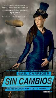Sin cambios de Gail Carriger