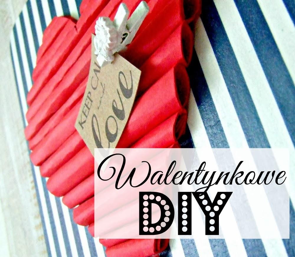 Walentynkowe DIY - zabawna dekoracja!  by Eco Manufaktura