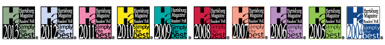 "Voted Harrisburg's ""Best Dealership"" 10 years and counting!"