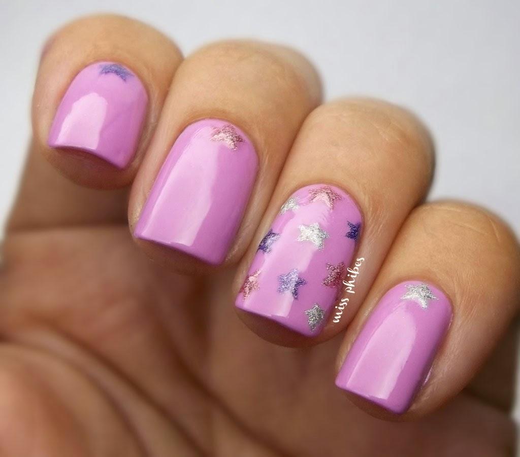 Nail art Estrellas