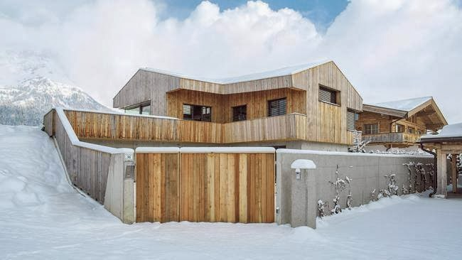 This Home in the Austrian Alps Was Crafted for People Who Appreciate Nature