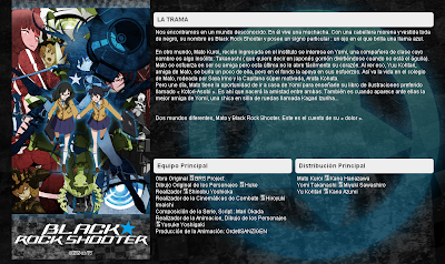 black rock shooter tv anime online con subtitulos spanish nico nico douga