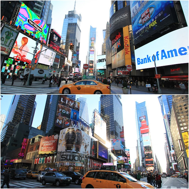 More views from Times Square in Manhattan, New York City, USA