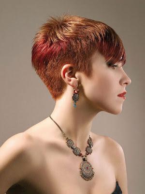 des coiffures pour femmes cheveux courts 2012 2013. Black Bedroom Furniture Sets. Home Design Ideas