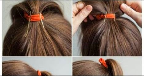 Cute Ponytail For Cheerleading Hairstyle Tutorial