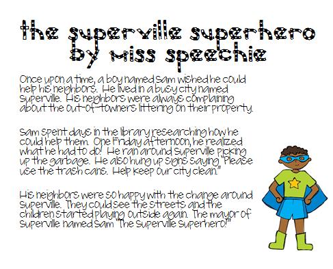 Narrative Speech Therapy Stories Kids