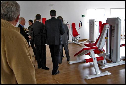 Telju fitness sl inauguracion del gimnasio de almorox for Gimnasio toledo